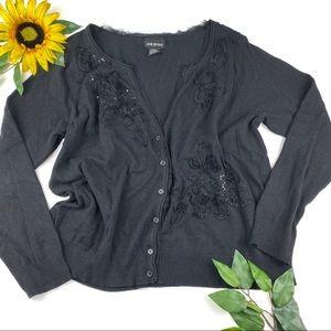 Lane bryant button down cardigan sweater 22/24